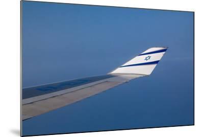Israeli Airplane Wing-EvanTravels-Mounted Photographic Print