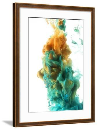 Color Drop-sanjanjam-Framed Photographic Print