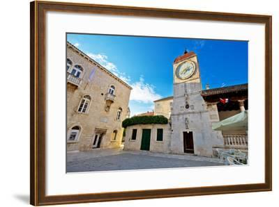 UNESCO Town of Trogir Square-xbrchx-Framed Photographic Print