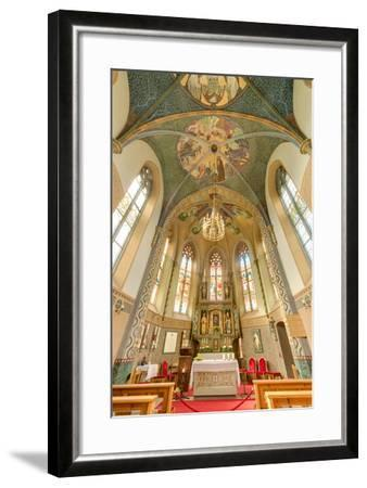 Mariahilf Church in Motz, Austria-Anibal Trejo-Framed Photographic Print