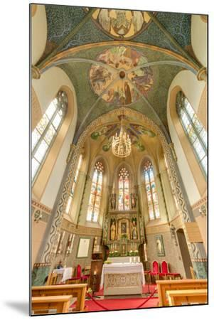 Mariahilf Church in Motz, Austria-Anibal Trejo-Mounted Photographic Print