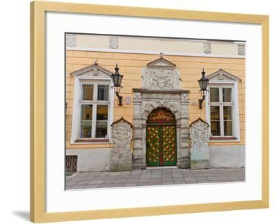 Brotherhood of the Blackheads House in Tallinn, Estonia- joymsk-Framed Photographic Print