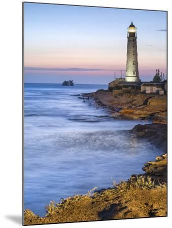 Lighthouse in Twilight-sergejson-Mounted Photographic Print