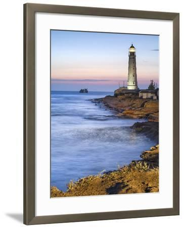 Lighthouse in Twilight-sergejson-Framed Photographic Print