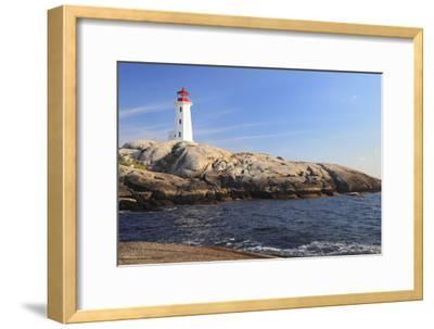 Peggy Cove Lighthouse, Nova Scotia, Canada-vlad_g-Framed Photographic Print