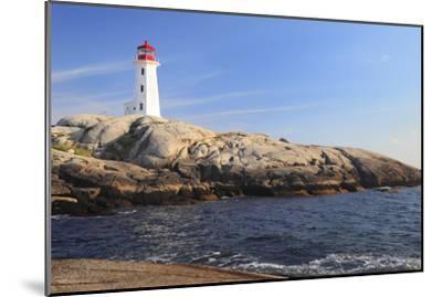 Peggy Cove Lighthouse, Nova Scotia, Canada-vlad_g-Mounted Photographic Print