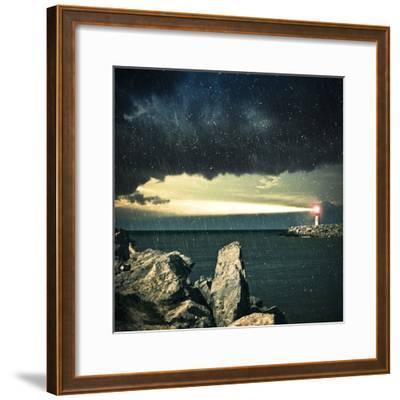 Lighthouse- adempercem-Framed Photographic Print