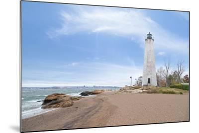 Five Mile Point Lighthouse in New Haven CT-beyond_a_snapshot-Mounted Photographic Print