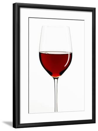 A Glass of Red Wine-Peter Rees-Framed Photographic Print