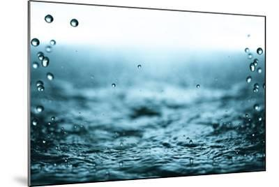 Rain Drops.-Janis Smits-Mounted Photographic Print