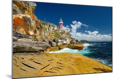 Sydney South Head Lighthouse. Australia.- Alvov-Mounted Photographic Print