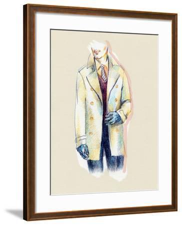 Man in Coat-Anna Ismagilova-Framed Photographic Print