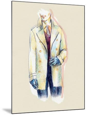 Man in Coat-Anna Ismagilova-Mounted Photographic Print