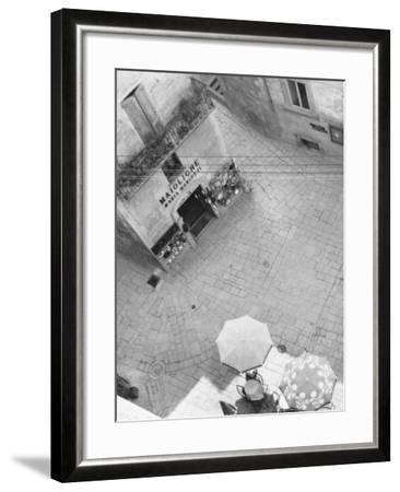 Square in San Marino-A^ Villani-Framed Photographic Print