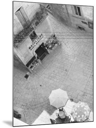 Square in San Marino-A^ Villani-Mounted Photographic Print