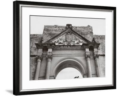 Triumphal Arch in Honor of Carlos V, in Lecce-A^ Villani-Framed Photographic Print