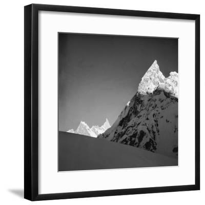Mitria Peak (6100 Meters), Area Surrounding the Circo Concordia, Karakorum--Framed Photographic Print