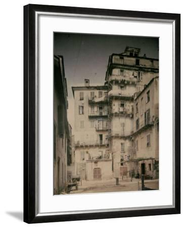 Bastia in Corsica. a Street-Henrie Chouanard-Framed Photographic Print