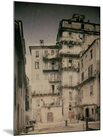 Bastia in Corsica. a Street-Henrie Chouanard-Mounted Photographic Print