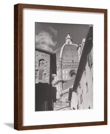 Dome of the Cathedral of Santa Maria Del Fiore, Florence-Filippo Brunelleschi-Framed Photographic Print