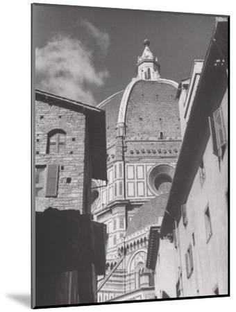 Dome of the Cathedral of Santa Maria Del Fiore, Florence-Filippo Brunelleschi-Mounted Photographic Print