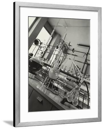 Instruments Inside a Chemical Laboratory-A^ Villani-Framed Photographic Print