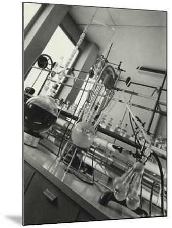 Instruments Inside a Chemical Laboratory-A^ Villani-Mounted Photographic Print