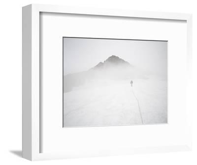 Sulphide Glacier, North Cascades National Park, Washington-Ethan Welty-Framed Photographic Print