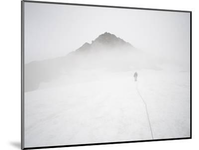 Sulphide Glacier, North Cascades National Park, Washington-Ethan Welty-Mounted Photographic Print