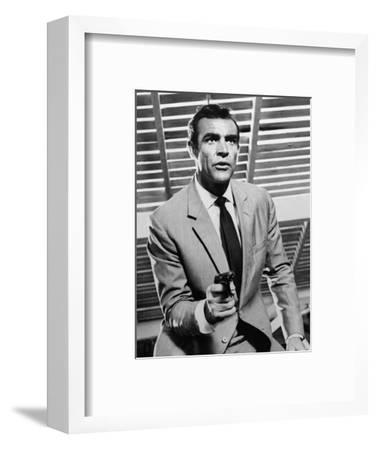 """Sean Connery. """"Doctor No"""" 1962, """"Dr. No"""" Directed by Terence Young--Framed Photographic Print"""