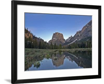 Stars over Square Top Mountain-Andrew R. Slaton-Framed Photographic Print