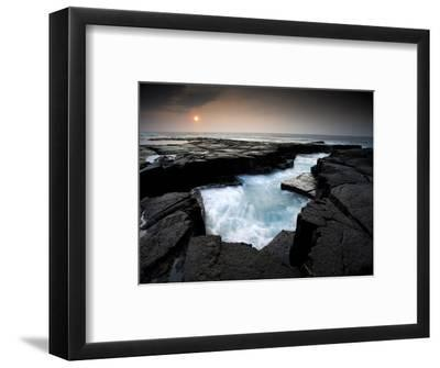 Lava Patterns in Hawaii-Ian Shive-Framed Photographic Print