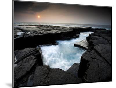Lava Patterns in Hawaii-Ian Shive-Mounted Photographic Print