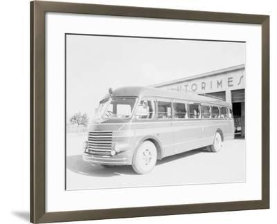 One of the Bologna City Buses-A^ Villani-Framed Photographic Print