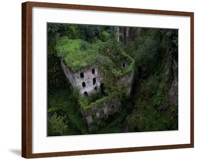 Sorrento, Italy: the Old Mill Located Near the Heart of Sorrento.-Ian Shive-Framed Photographic Print