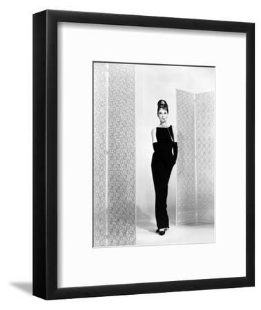 """Audrey Hepburn. """"Breakfast At Tiffany's"""" 1961, Directed by Blake Edwards--Framed Photographic Print"""