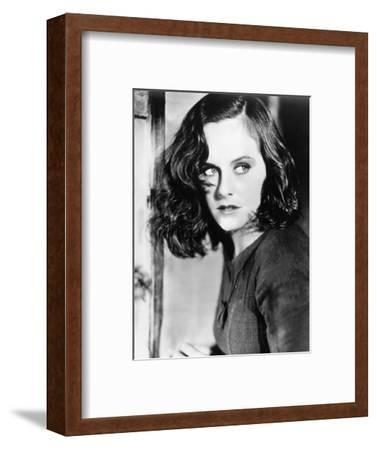 "Paulette Goddard. ""The Masses"" 1936, ""Modern Times"" Directed by Charles Chaplin--Framed Photographic Print"