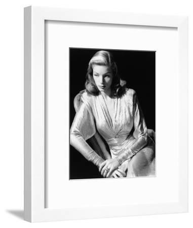 Lauren Bacall, 1945. 1945--Framed Photographic Print