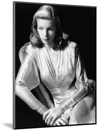 Lauren Bacall, 1945. 1945--Mounted Photographic Print
