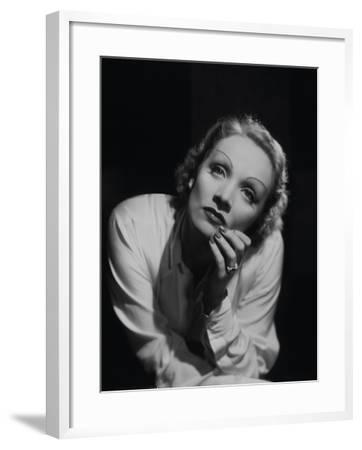 "Marlene Dietrich. ""Desire"" 1936, Directed by Frank Borzage--Framed Photographic Print"