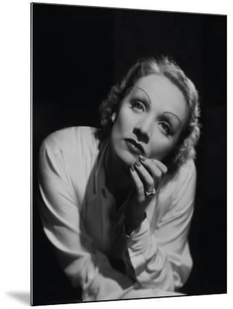 "Marlene Dietrich. ""Desire"" 1936, Directed by Frank Borzage--Mounted Photographic Print"