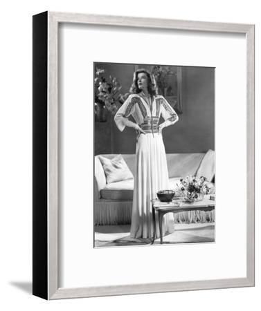 Katharine Hepburn, The Philadelphia Story, 1940--Framed Photographic Print