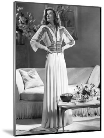 Katharine Hepburn, The Philadelphia Story, 1940--Mounted Photographic Print