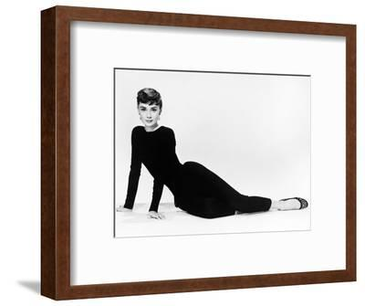 "Audrey Hepburn. ""Sabrina Fair"" 1954, ""Sabrina"" Directed by Billy Wilder. Diseñador: Givenchy--Framed Photographic Print"