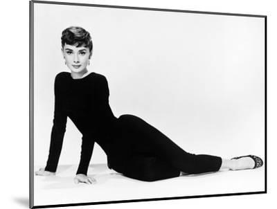 "Audrey Hepburn. ""Sabrina Fair"" 1954, ""Sabrina"" Directed by Billy Wilder. Diseñador: Givenchy--Mounted Photographic Print"