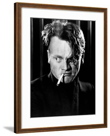 """James Cagney. """"Beer And Blood"""" 1931, """"The Public Enemy"""" Directed by William A. Wellman--Framed Photographic Print"""