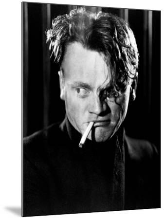 """James Cagney. """"Beer And Blood"""" 1931, """"The Public Enemy"""" Directed by William A. Wellman--Mounted Photographic Print"""