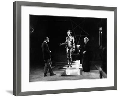 "R. Klein Rogge. ""Metropolis"" 1927, Directed by Fritz Lang--Framed Photographic Print"