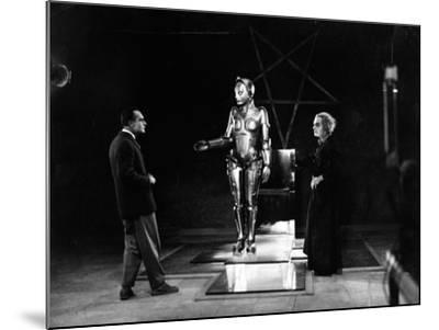 "R. Klein Rogge. ""Metropolis"" 1927, Directed by Fritz Lang--Mounted Photographic Print"