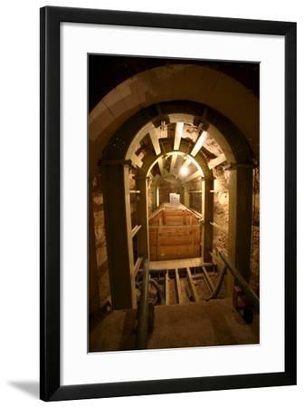 The Serapium in Saqqara-Mike Nelson-Framed Photographic Print